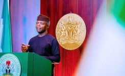 Osinbajo says time to provide more electricity for Nigerians is now, flags off 5m solar power connections in Jigawa