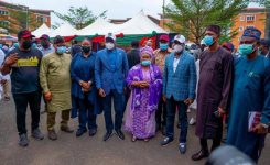 Sanwo-Olu commissions Igbogbo/Bayeku LCDA Secretariat, assures Lagosians of more infrastructural development