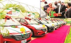 Teaching will not be a thankless job in Lagos, governor vows, 13 outstanding teachers get car prizes