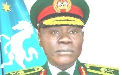 President Buhari appoints Maj Gen Farouk Yahaya as Nigeria's new Chief of Army Staff