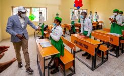 Gov Sanwo-Olu commissions 66-classroom blocks in four Lagos schools
