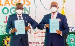 Lagos and Ogun make history, collaborate for mutual economic growth, infrastructure, boundary dispute resolution