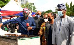 Gov Sanwo-Olu commissions four rehabilitated roads network in Ikoyi