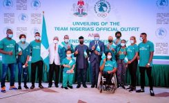 VP Osinbajo to Nigeria's Olympics Team: You stand on the shoulders of giants